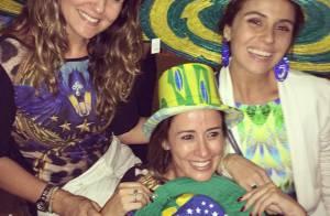 Giovanna Antonelli e outros famosos comemoram vitória do Brasil na Copa