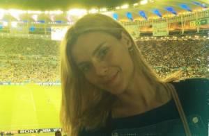 Carolina Dieckmann, Marcelo Adnet e famosos assistem a jogo da Copa no  Maracanã d97082b99f