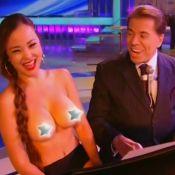 Silvio Santos tira roupa de pianista em programa: 'Ele foi muito ousado'