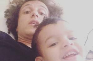 David Luiz aparece em vídeo com o sobrinho após jogo difícil contra o México