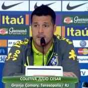 Julio Cesar diz que Neymar é completo e garante: 'Estamos bem na Copa do Mundo'