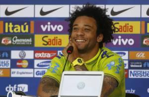 Copa 2014: Marcelo rebate crítica de Zico sobre emoção no hino. 'Não atrapalha'