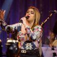 Preta Gil se apresentou no palco do programa 'Música Boa ao Vivo', que foi exibido no canal Multishow na noite desta terça-feira, 24 de junho de 2014