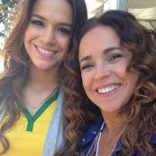 Daniela Mercury tieta Bruna Marquezine no Mineirão: 'Muito simpática'