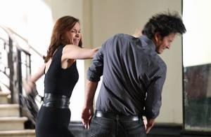 'Em Família': Helena bate em Laerte durante briga. 'Deixa minha filha em paz!'