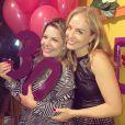 'Parabéns, princesa guerreira Fê', escreveu Angélica ao felicitar Fernanda Souza pelos seus 30 anos