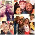 Os amigos de Fernanda Souza compartilharam várias fotos da festa nas redes sociais