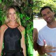 Letícia Birkheuer engatou um romence, recentemente, com o DJ e surfista Henry Barclay, de 32 anos