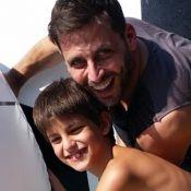 Henri Castelli se declara ao filho e fala de Isabelli Fontana: 'Nos entendendo'