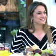 Fernanda Gentil lembra que pediu a Glenda  Kozlowski para receber seu currículo durante um jantar