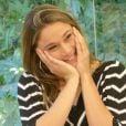 Fernanda Gentil ganha declaração do marido, Matheus, no 'Mais Você': 'Felicidade dela me encanta'