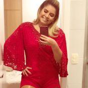 Marília Mendonça, mais magra em foto, é elogiada por Ivete Sangalo:'Gata demais'