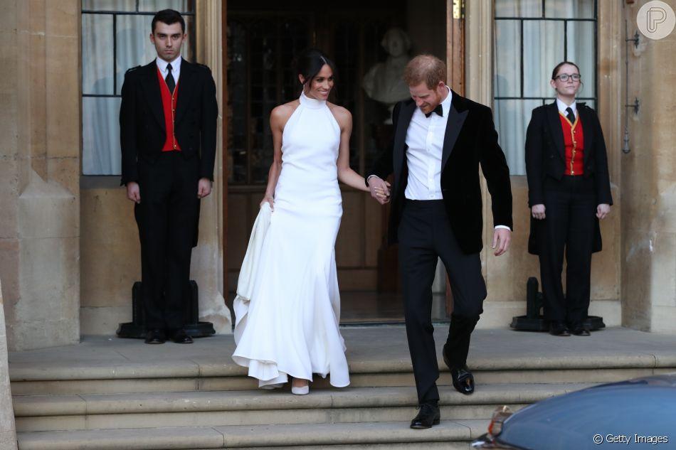 Vestido de festa de casamento Meghan Markle terá réplicas à venda, como sinalizou em entrevista à 'Vogue' nesta quinta-feira, dia 14 de junho de 2018