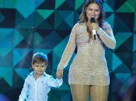Henry, filho da sertaneja Simone, canta com a mãe em show no Ceará. Vídeo!