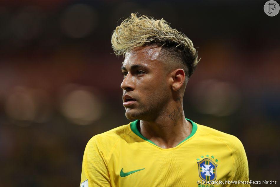 2045f6114f Neymar adota novo visual após Brasil estrear na Copa na Rússia