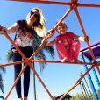 Rafaella Justus adora se divertir com Ticiane Pinheiro
