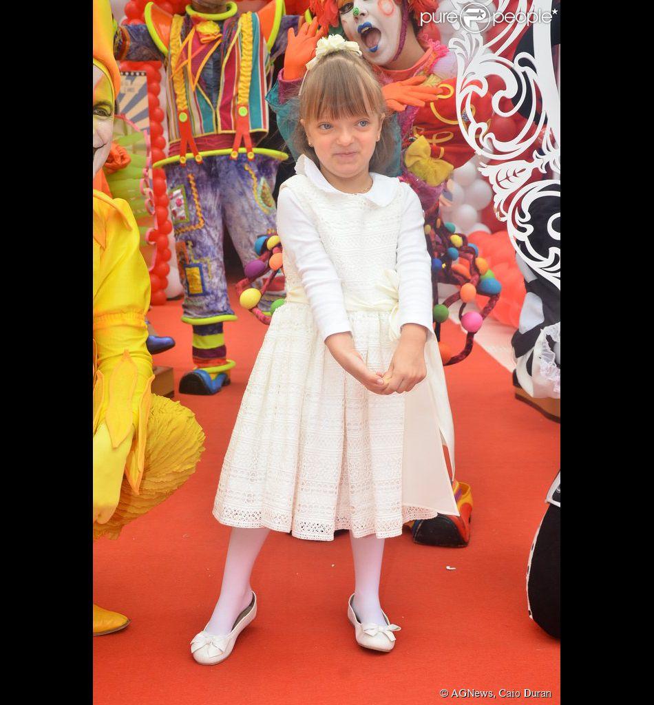 Rafaella Justus completa 5 anos nesta segunda-feira, 21 de julho de 2014