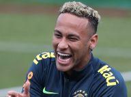Neymar exibe cabelo mais curto e sai mancando em treino na Rússia. Veja fotos!