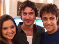 Gabriel Braga Nunes celebra sucesso de 'Em Família' com elenco: 'Orgulhoso'