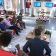 Elenco de 'Em Família' se despede de novela durante programa 'Encontro com Fátima'