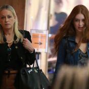Noite em família: Marina Ruy Barbosa passeia com a mãe em shopping. Fotos!