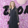 Delphine Arnault prestigiou o desfile da coleção primavera/verão 2019 masculina da Dior, durante a Paris Fashion Week, neste sábado, 23 de junho de 2018