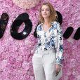 Natalia Vodianova prestigiou o desfile da coleção primavera/verão 2019 masculina da Dior, durante a Paris Fashion Week, neste sábado, 23 de junho de 2018