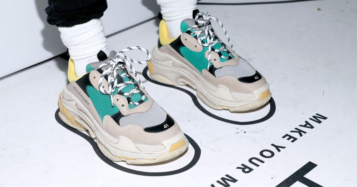 fa34db1e8a9 Chunky sneakers