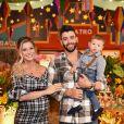 Gusttavo Lima e Andressa Suita comemoraram 1 ano do filho, Gabriel, nesta segunda-feira, 26 de junho de 2018