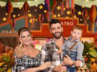 Gusttavo Lima e Andressa Suita comemoram 1 ano do filho com festa junina. Fotos!