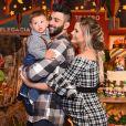 Filho de Gusttavo Lima e Andressa Suita ganhou festa de 1 ano nesta segunda-feira, 26 de junho de 2018