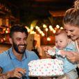 Andressa Suita sempre compartilha momentos com filho, Gabriel, na web