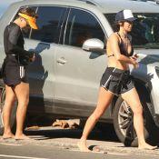 Nanda Costa curte dia de praia com namorada, Lan Lanh: 'Corridinha'. Fotos!