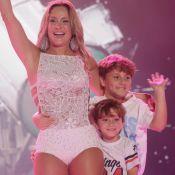 Claudia Leitte dança com filhos em show na Bahia: 'Foi demais'. Vídeo!