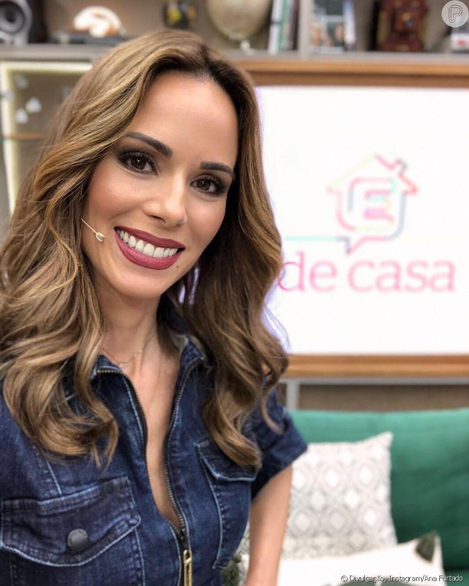 Ana Furtado anuncia retorno ao 'É de Casa' neste sábado, 30 de junho de 2018