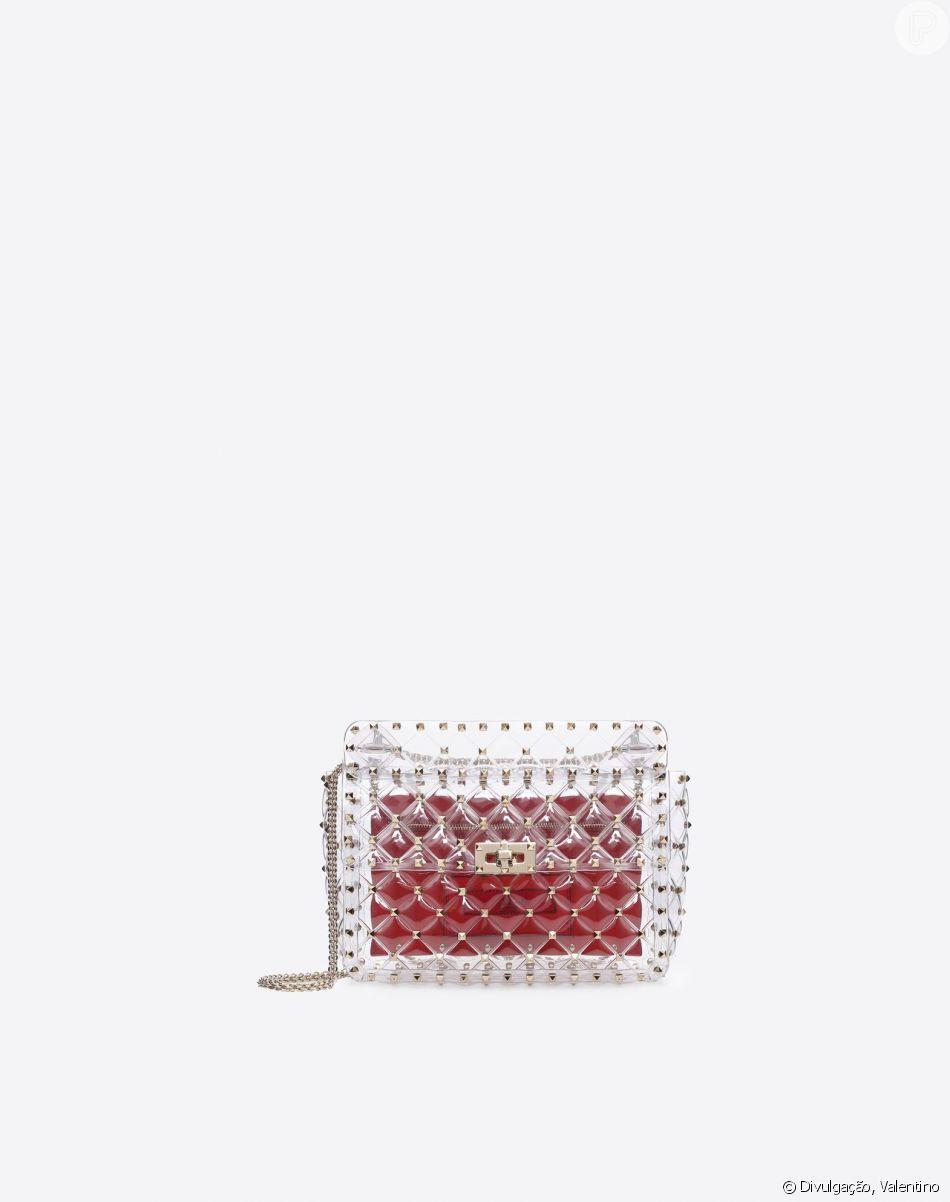 dce20e08d5b8b Bolsa Valentino pode ser encontrada na loja online por   2,295.00,  aproximadamente R  9 mil
