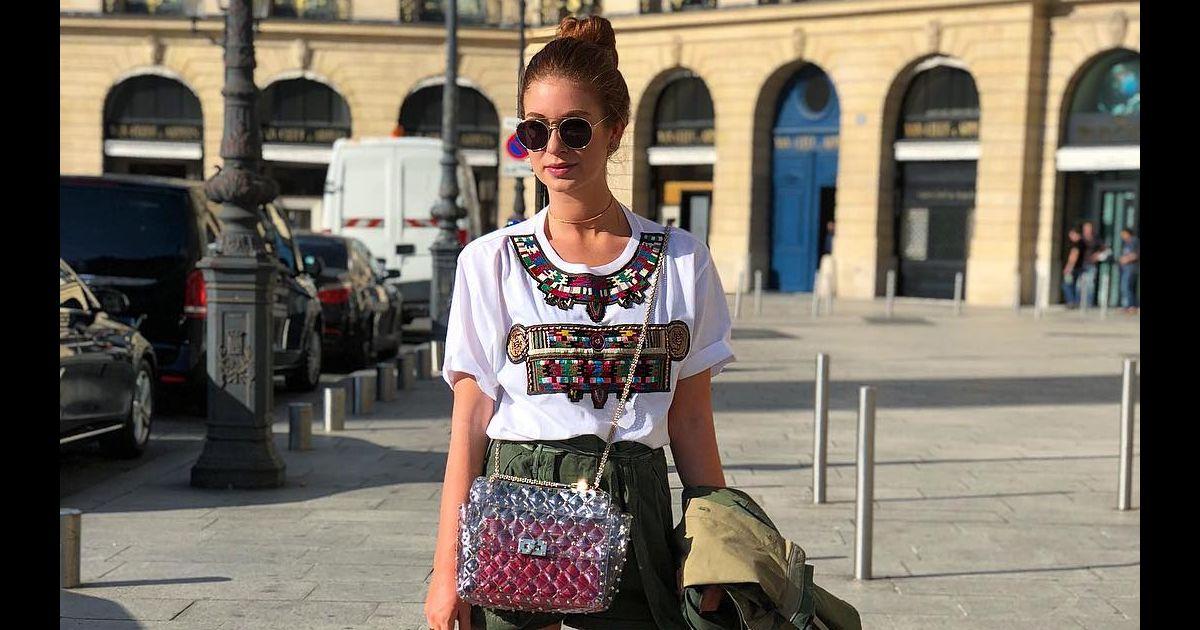 a6d71f78e2cc0 Marina Ruy Barbosa usa bolsa em PVC transparente em Paris. Saiba preço! -  Purepeople