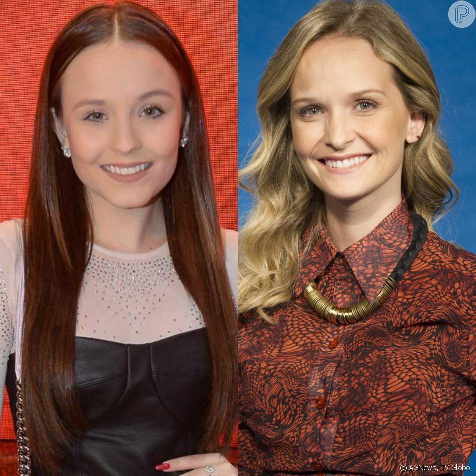 Mãe de Larissa Manoela e seguidores do Instagram apontam semelhança na aparência da atriz mirim com Fernanda Rodrigues