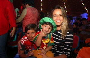 'Só isso pra fazer sorrir', diz Fê Gentil sobre filho após Brasil ser eliminado