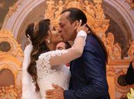 Frank Aguiar e estudante Caroline Santos se casam com 5 meses de namoro. Fotos!