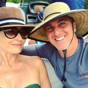 Luciano Huck e Angélica curtem férias e posam durante passeio no Havaí: 'É nós'