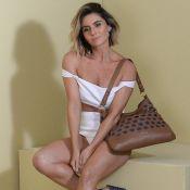 Giovanna Antonelli posa para campanha de acessórios e festeja resultado: 'Lindo'