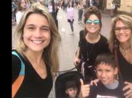 Fernanda Gentil brinca com família em passeio na Rússia: 'Labirinto de espelhos'