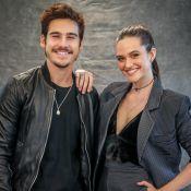 Juliana Paiva e Nicolas Prattes, par na novela 'O Tempo Não Para', estão juntos!