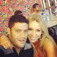 Hulk é casado com Iran Ângelo de Souza há sete anos