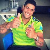 Hulk, jogador que teve o bumbum eleito o melhor da Copa, completa 28 anos