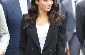 Look formal! Meghan Markle escolhe terninho Givenchy para evento na Irlanda