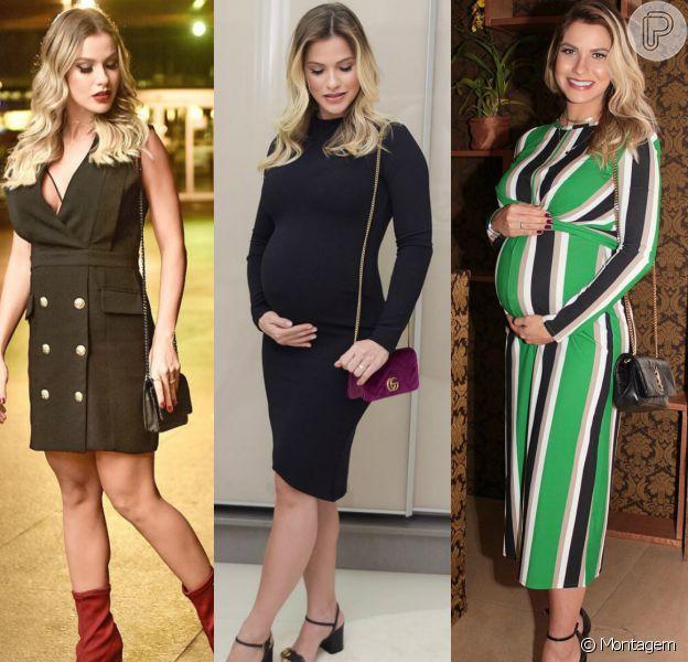 Veja fotos dos looks de Andressa Suita na gravidez de seu segundo filho, Samuel