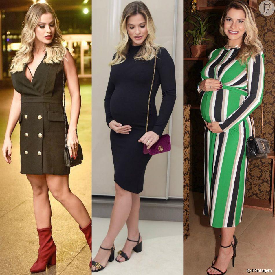962a716dc281 Veja fotos dos looks de Andressa Suita na gravidez de seu segundo filho,  Samuel
