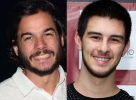 Túlio Gadêlha mostra foto brindando com filho de Fátima Bernardes: 'Meu enteado'